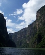 Sumidero Canyon. 1 hour driving from San Cristobal
